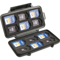 Pelican 0915 Memory Card Case SD/SD Mini