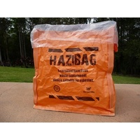 Hazardous Material Bag 1 Cube Size (8 Pack)