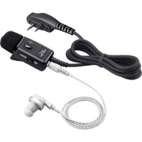 Icom HM153LA Ear-Piece Style Speaker/Microphone