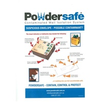 Powdersafe Suspicious Mail Indicator Posters