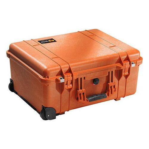 Pelican 1560 Case - With Padded Divider Set (Yellow)