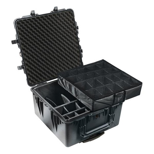Pelican 1640 Case - With Padded Divider Set (Olve Drab Green)