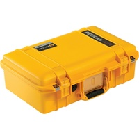 Pelican 1485 Air Case with TrekPak Divider System (Yellow)