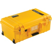 Pelican 1535 Air Case with Padded Dividers (Yellow)