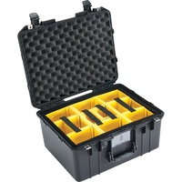 Pelican 1557 Air Case - With Padded Dividers (Black)