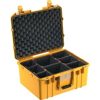 Pelican 1557 Air Case - With TrekPak Dividers (Yellow)