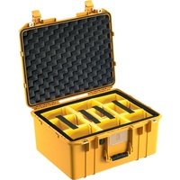 Pelican 1557 Air Case - With Padded Dividers (Yellow)
