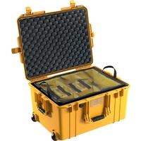 Pelican 1607 Air Case - With Padded Dividers (Yellow)