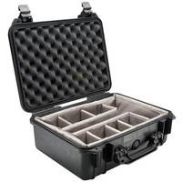 Pelican 1550 Case - With Padded Divider Set